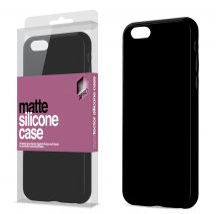 XPRO Case matt szilikon tok fekete iPhone XS Max