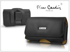 Pierre Cardin Business vízszintes, csatos-fűzős, különleges minőségű tok mobiltelefonhoz - TS2 méret
