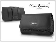 Pierre Cardin Elegant vízszintes, csatos-fűzős, különleges minőségű tok mobiltelefonhoz - TS10 méret