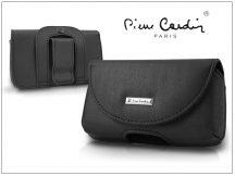 Pierre Cardin Classic vízszintes, csatos-fűzős, különleges minőségű tok mobiltelefonhoz - TS6 méret