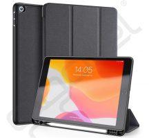 Dux Ducis Flip bőr tok Trifold tartó funkcióval fekete iPad 2019