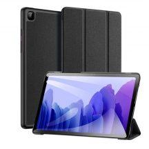 Dux Ducis Flip bőr tok Trifold tartó funkcióval fekete Galaxy Tab A7