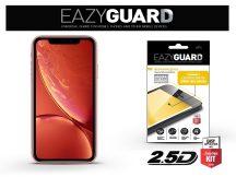 Apple iPhone XR/11 gyémántüveg képernyővédő fólia - Diamond Glass 2.5D Fullcover - fekete