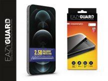 Apple iPhone 12 Pro Max gyémántüveg képernyővédő fólia - Diamond Glass 2.5D Fullcover - fekete
