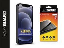 Apple iPhone 12 Mini gyémántüveg képernyővédő fólia - Diamond Glass 2.5D Fullcover - fekete