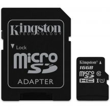 Kingston microSDHC 16GB (Class10) SDC10G2/16GB