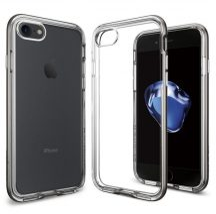 Spigen Neo Hybrid Crystal iPhone 7 tok Gunmetal