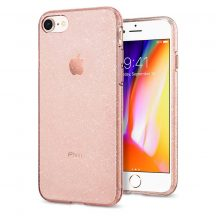Spigen Liquid Crystal Glitter iPhone 7/8/SE 2020 tok Rose Quartz