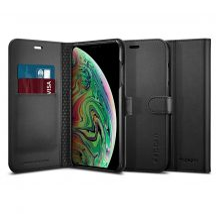 Spigen Wallet S iPhone XS Max tok Black