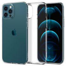 Spigen Liquid Crystal iPhone 12/12 Pro tok Crystal Clear