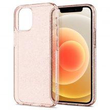 Spigen Liquid Crystal Glitter iPhone 12/12 Pro tok Rose Quartz