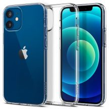 Spigen Liquid Crystal iPhone 12 Mini tok Crystal Clear