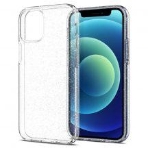 Spigen Liquid Crystal Glitter iPhone 12 Mini tok Crystal Quartz