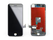 """LCD kijelző érintőpanellel - Apple iPhone 8/SE 2020 4.7"""", - AAA kiváló minőségű, utángyártott - fekete"""