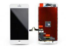 """LCD kijelző érintőpanellel - Apple iPhone 8 Plus 5.5"""", - HiPix AAA kiváló minőségű, utángyártott - fehér"""