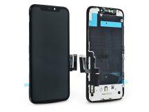 LCD kijelző érintőpanellel - Apple iPhone 11 - Kingwo Incell kiváló minőségű, utángyártott - fekete
