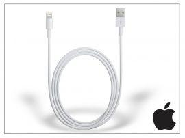 Apple iPhone Lightning eredeti, gyári USB töltő- és adatkábel 1 m-es vezetékkel - Lightning - MD818ZM/A (ECO csomagolás)