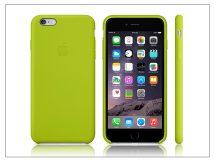 Apple iPhone 6 Plus/6s Plus eredeti gyári szilikon hátlap - MGXX2ZM/A - green