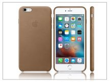 Apple iPhone 6 Plus/6S Plus eredeti gyári bőr hátlap - MKX92ZM/A - brown