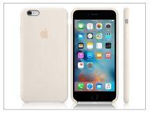 Apple iPhone 6 Plus/6S Plus eredeti gyári szilikon hátlap - MLD22ZM/A - antique white