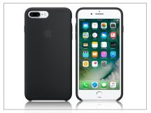 Apple iPhone 7 Plus/iPhone 8 Plus eredeti gyári szilikon hátlap - MMQR2ZM/A - black