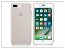 Apple iPhone 7 Plus/iPhone 8 Plus eredeti gyári szilikon hátlap - MMQW2ZM/A - stone