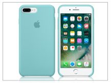 Apple iPhone 7 Plus/iPhone 8 Plus eredeti gyári szilikon hátlap - MMQY2ZM/A - sea blue