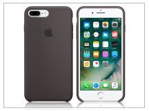 Apple iPhone 7 Plus/iPhone 8 Plus eredeti gyári szilikon hátlap - MMT12ZM/A - cocoa