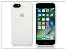 Apple iPhone 7/iPhone 8 eredeti gyári szilikon hátlap - MMWF2ZM/A - white