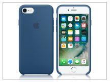 Apple iPhone 7/iPhone 8 eredeti gyári szilikon hátlap - MMWW2ZM/A - ocean blue