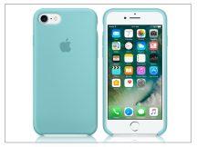 Apple iPhone 7/iPhone 8 eredeti gyári szilikon hátlap - MMX02ZM/A - sea blue