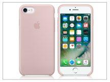 Apple iPhone 7/iPhone 8 eredeti gyári szilikon hátlap - MMX12ZM/A - pink sand