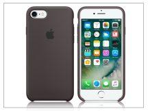 Apple iPhone 7 eredeti gyári szilikon hátlap - MMX22ZM/A - cocoa