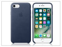 Apple iPhone 7 eredeti gyári bőr hátlap - MMY32ZM/A - midnight blue