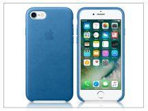 Apple iPhone 7/iPhone 8 eredeti gyári bőr hátlap - MMY42ZM/A - sea blue