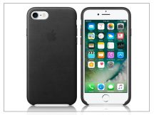 Apple iPhone 7/iPhone 8 eredeti gyári bőr hátlap - MMY52ZM/A - black