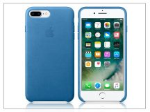 Apple iPhone 7 Plus/iPhone 8 Plus eredeti gyári bőr hátlap - MMYH2ZM/A - sea blue