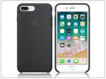 Apple iPhone 7 Plus/iPhone 8 Plus eredeti gyári szilikon hátlap - MQGW2ZM/A - black