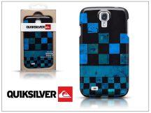 Samsung i9500 Galaxy S4 hátlap képernyővédő fóliával - Quiksilver Graphic - black/blue