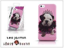 Apple iPhone 5C hátlap - Teo Jasmin Queen - pink