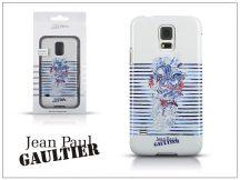 Samsung SM-G900 Galaxy S5 hátlap - Jean Paul Gaultier Tatoo - white/navy blue