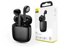 Baseus TWS Bluetooth sztereó headset v5.0 + töltőtok - Baseus W04 True Wireless Earphones with Charging Case - fekete