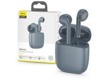 Baseus TWS Bluetooth sztereó headset v5.0 + töltőtok - Baseus W04 Pro True Wireless Earphones with Charging Case - grey