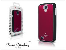 Samsung i9500 Galaxy S4 alumínium hátlap - red