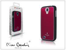 Samsung i9190 Galaxy S4 Mini alumínium hátlap - red