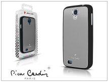 Samsung i9500 Galaxy S4 alumínium hátlap - silver