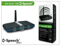 B-Speech RTX1 Bluetooth Profi audio adapter receiver (vevő) + transmitter (adó) v2.1+EDR - Soft Touch