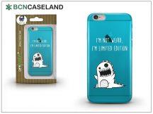 Apple iPhone 6/6S szilikon hátlap - BCN Caseland Limited Edition - azul