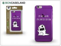 Apple iPhone 6/6S szilikon hátlap - BCN Caseland Limited Edition - lila