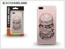 Apple iPhone 7 Plus szilikon hátlap - BCN Caseland Burguer - transparent